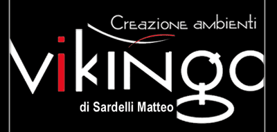 VIKINGO CREAZIONE AMBIENTI di SARDELLI MATTEO - LOGO