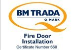 BM Trada Fire Door installer