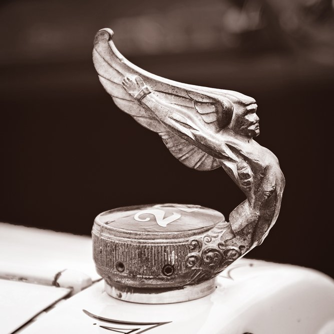 god of speed radiator vintage cap