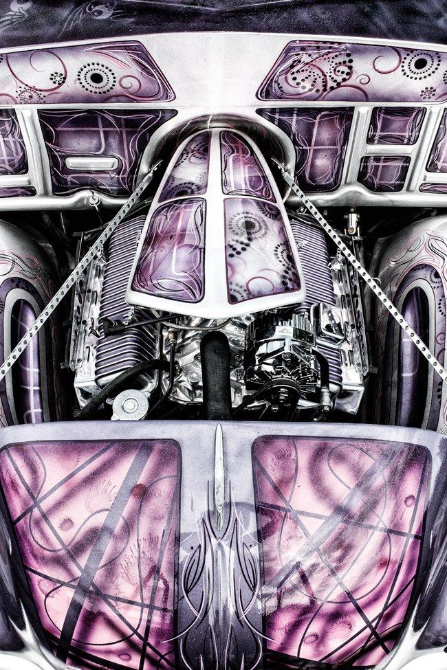 custom engine compartment