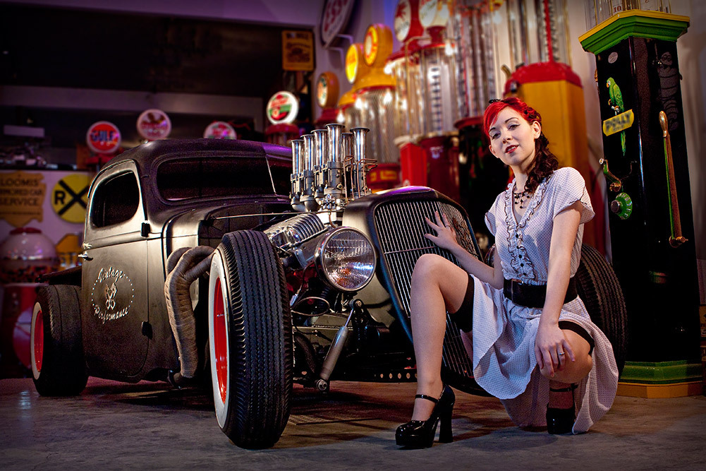 pin up girl photography