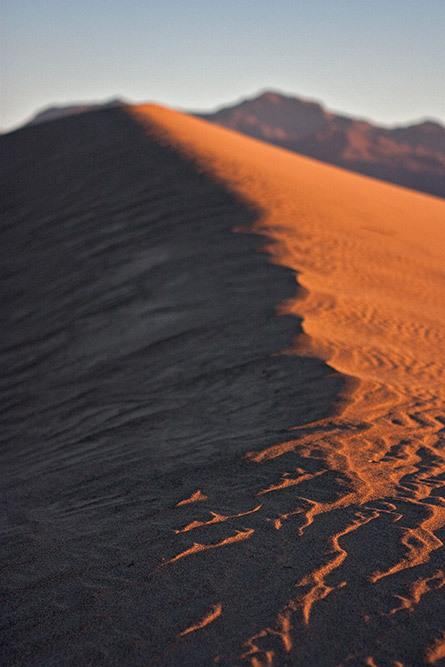 sand dunes death valley california
