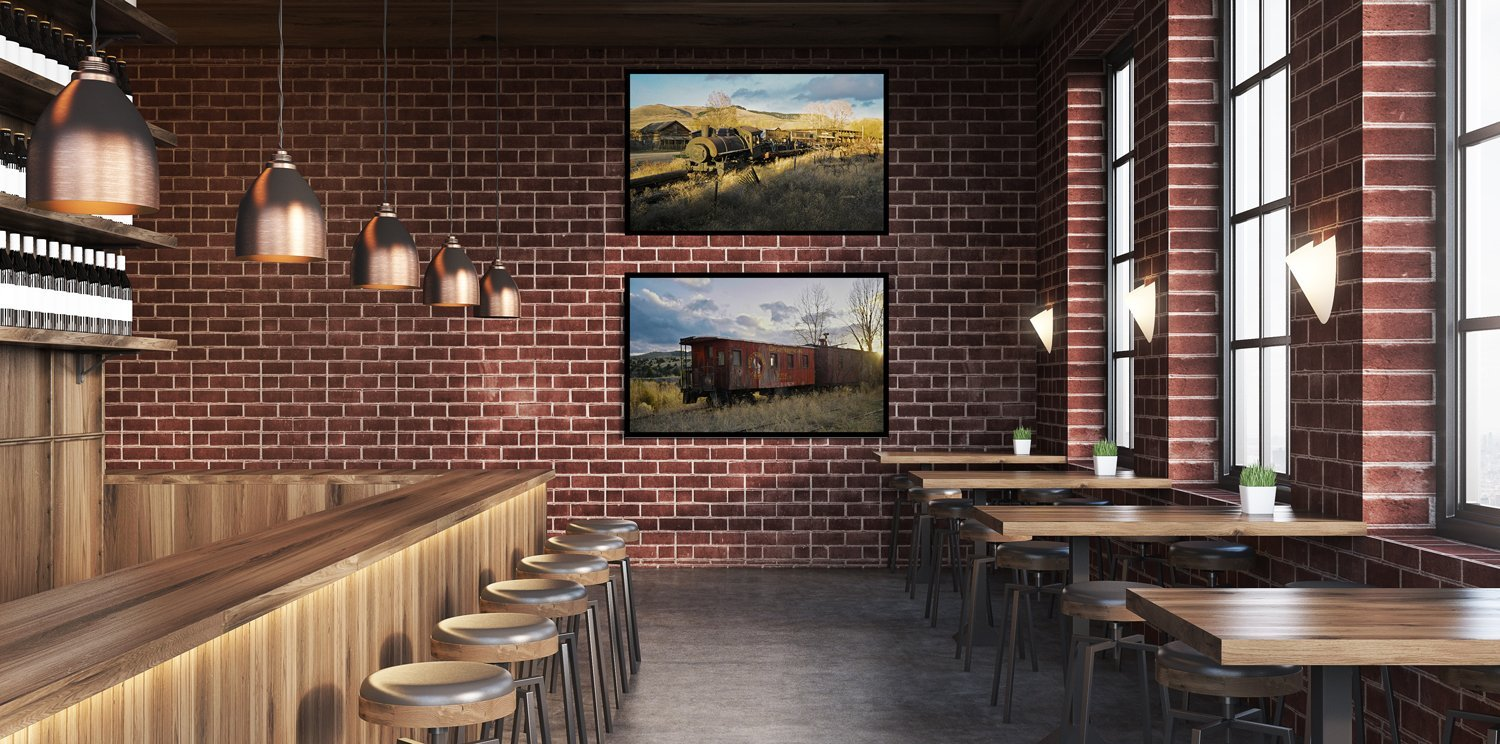 art for your pub, restaurant, cafe walls