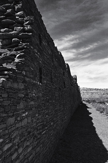 chaco canyon ruins new mexico