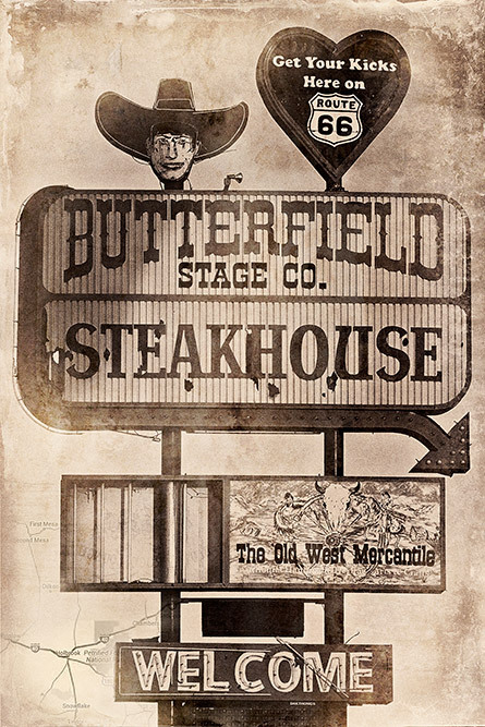 route 66 butterfield steakhouse holbrook