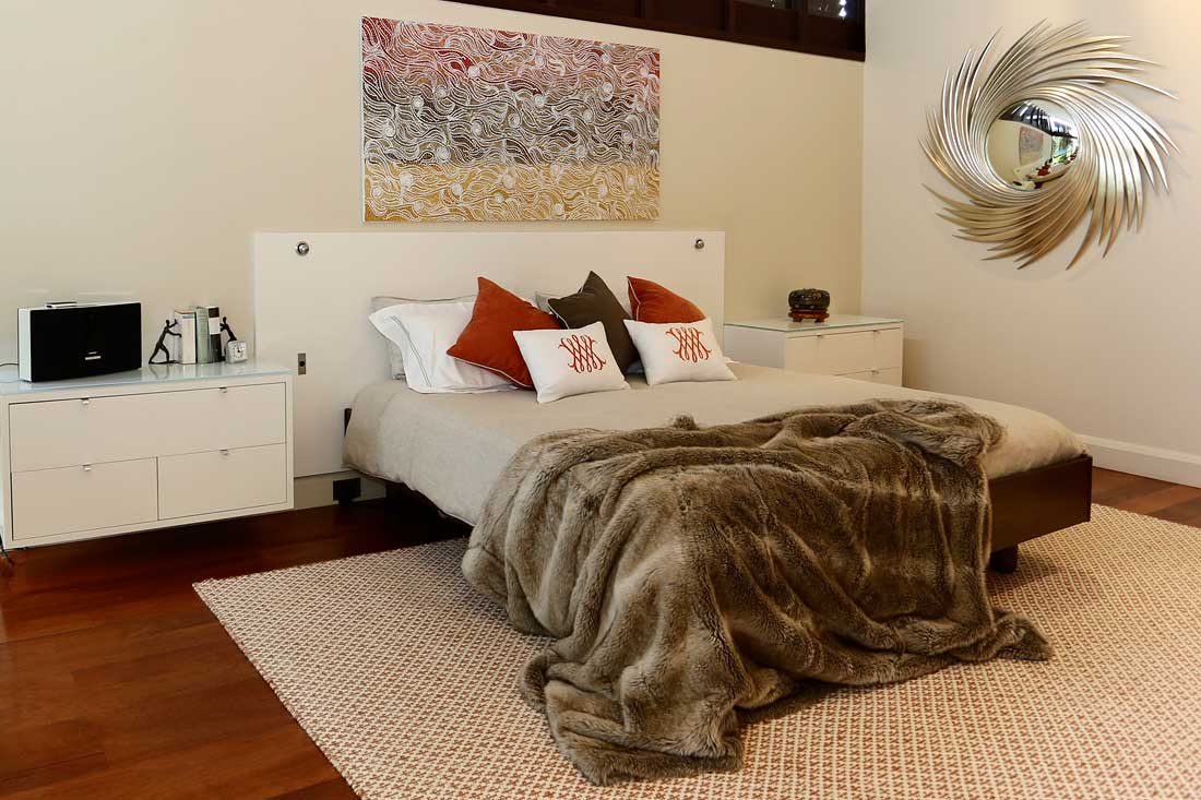 renovated bedroom by beautiful abodes