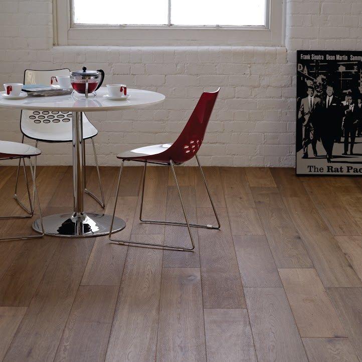 An example of hardwood flooring in Milton Keynes