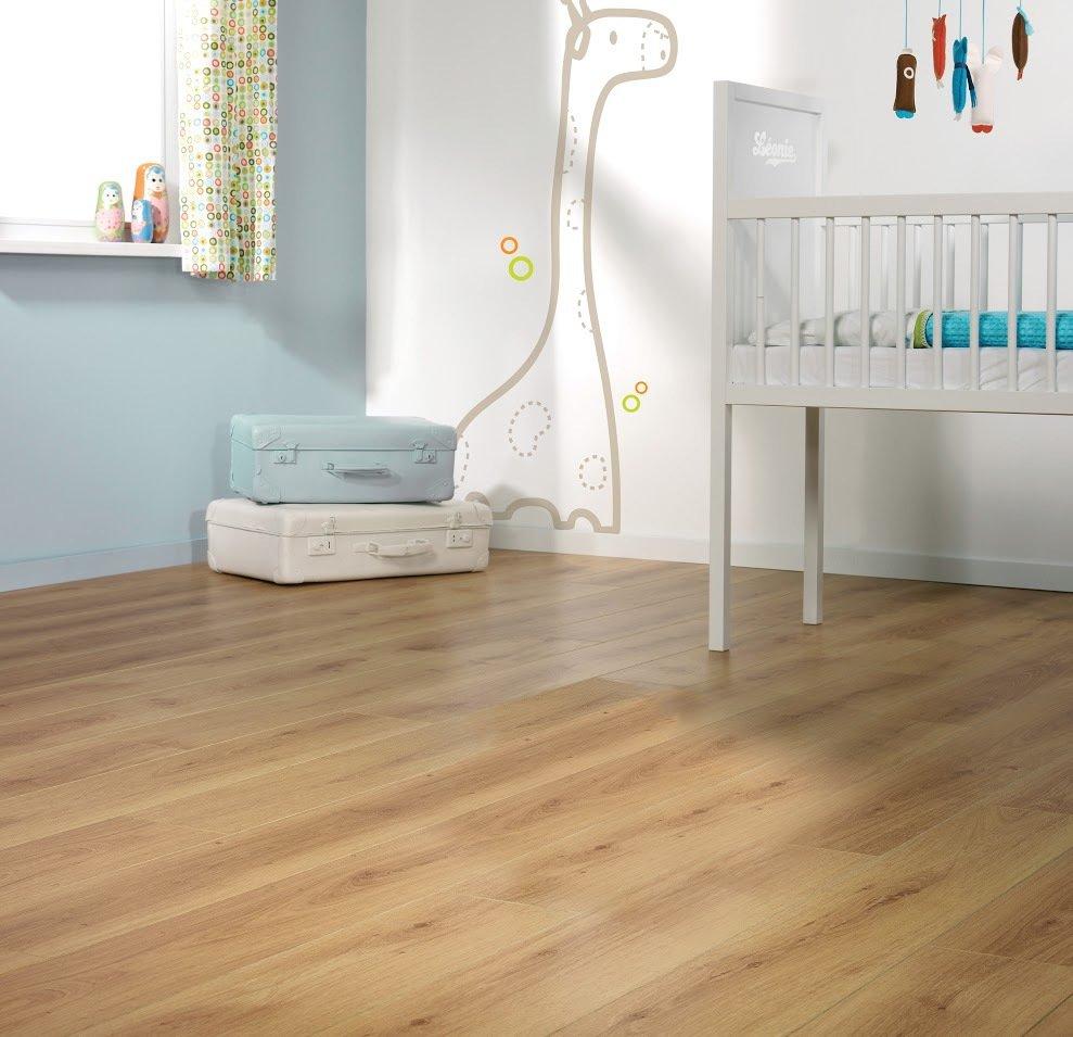 An example of laminate flooring in Milton Keynes