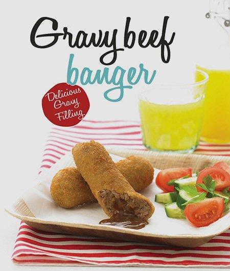 Gravy beef banger