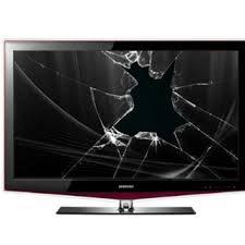Televisione rotta a Napoli