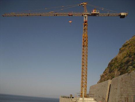 Noleggio gru a torre a Palermo