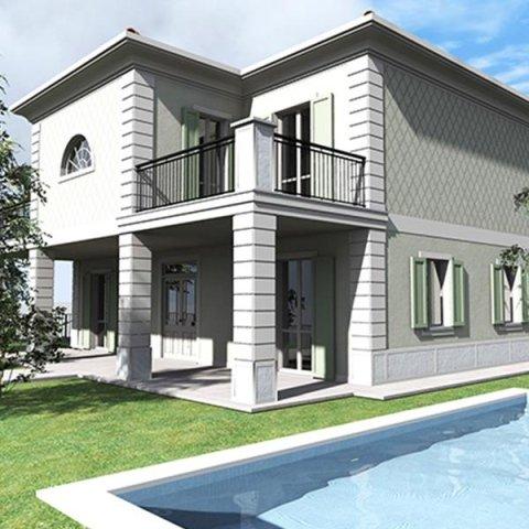 Immobile in costruzione - Lotto 8 - Villa singola con piscina - Provaglio D'Iseo