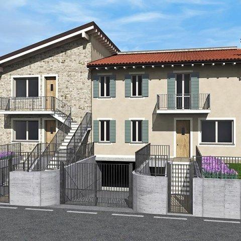 Immobile in costruzione - Lotto 1 - Trilocale + box - Provaglio D'Iseo