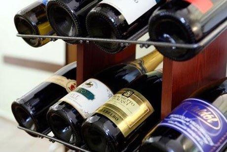 Alcune delle marche di vino del  ristorante