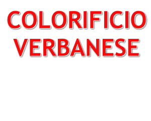 Colorificio Verbanese
