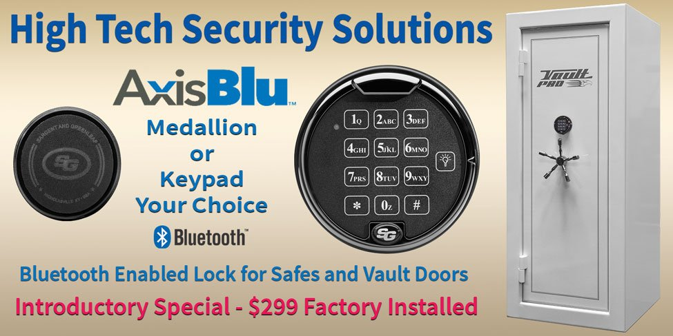 Gun safe and vault door options and accessories | Optional Locks