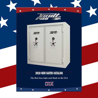 Gun Safe and Vault Door Brochures and Catalogs Products Made in USA