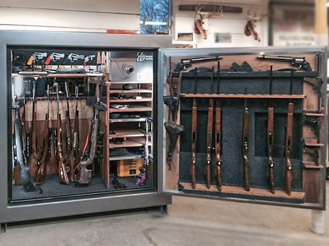 Custom designed gun safes for sale custom made safes for Custom home safes