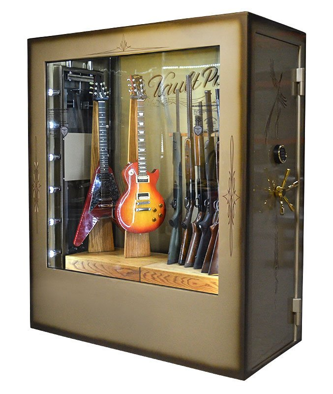 Fire Ballistic Resistant Display Safe Made In Usa