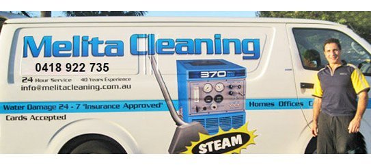 melita cleaning service office vehicle