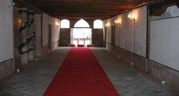 una sala della dimora storica
