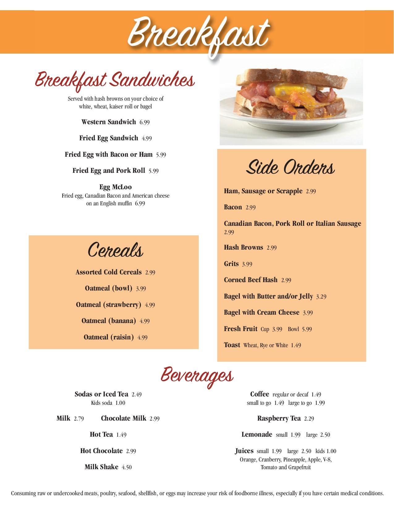 Enjoy Pancakes French Toast Omelettes Eggs Scrapple Sausage And Breakfast Sandwiches All At The Rehoboth Diner Fresh Delicious