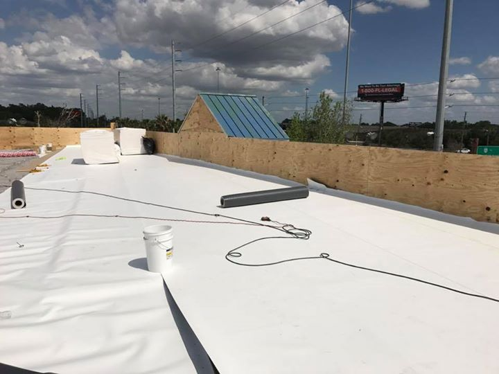 Tpo Roofing Commercial Roofing Contractor In Tampa