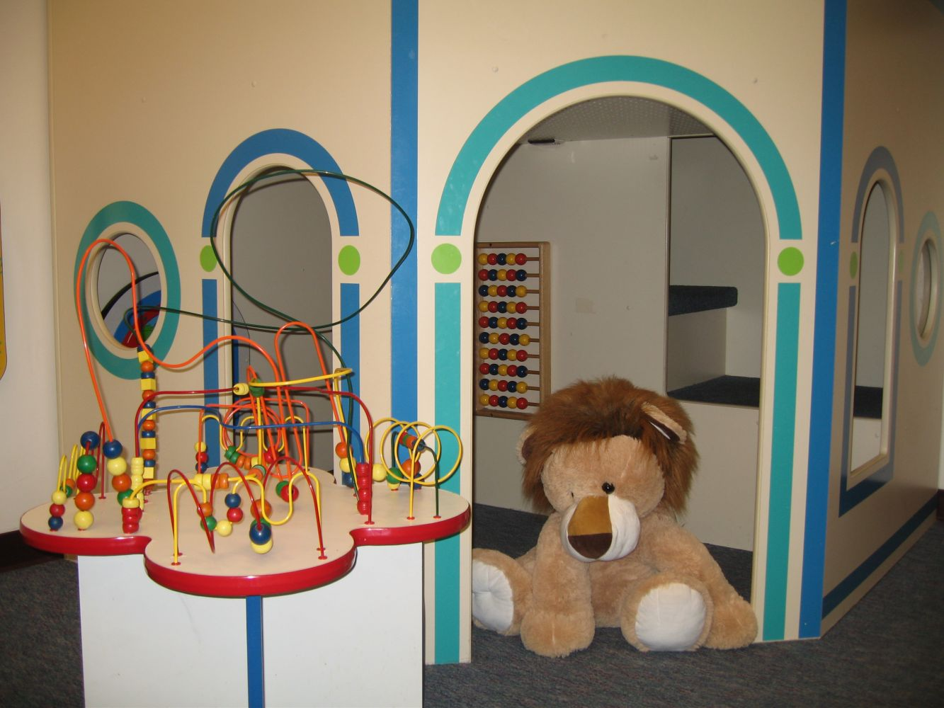 Children's play area in our professional office lobby in Anchorage, Alaska