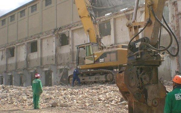 Lavori di demolizione