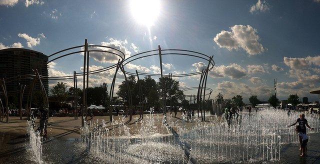 Homebush Aquatic Centre ANZ Stadium Bicentenial Park