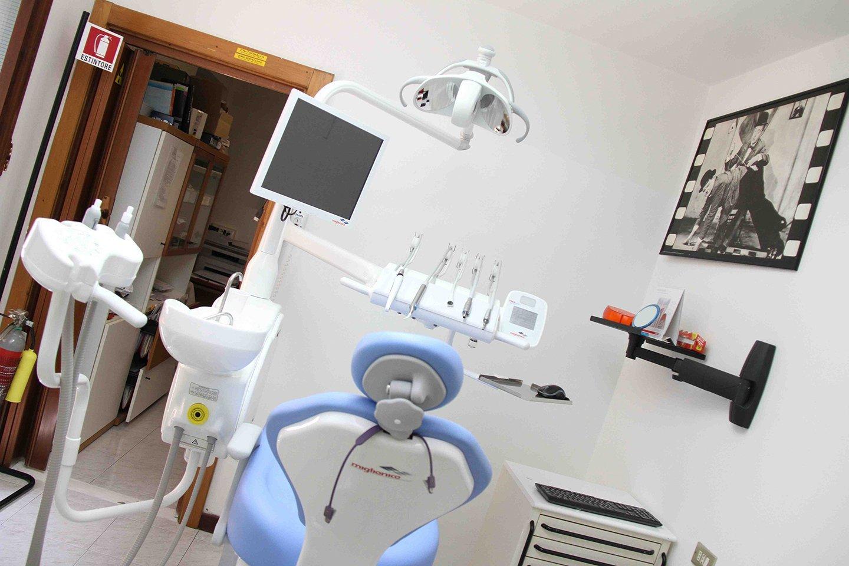 Sala operatoria dello studio dentistico