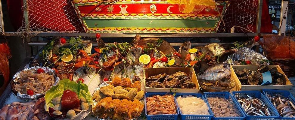 Ristorante di pesce Catania centro storico