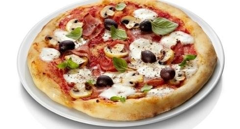 Pizza aux olives