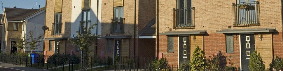 A block of nice flats