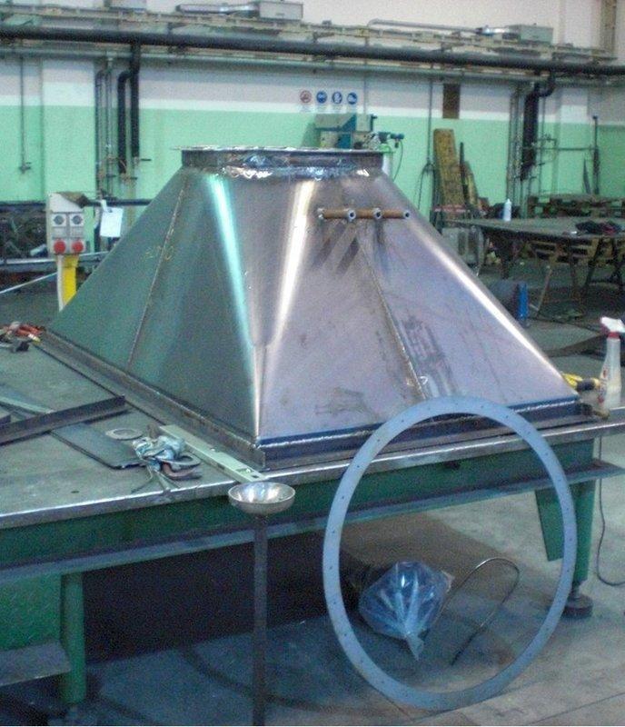 laboratorio per la lavorazione del ferro