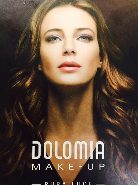 pubblicita DOLOMIA MAKE-UP