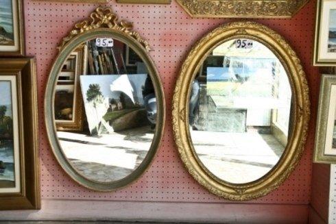 Specchi ovali
