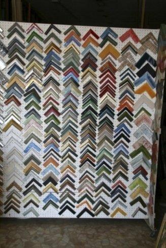 Cornici in legno colorate