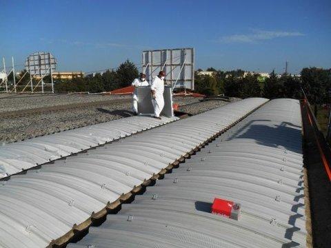 coperture capannoni industriali