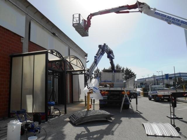 smantellamento copertura in amianto