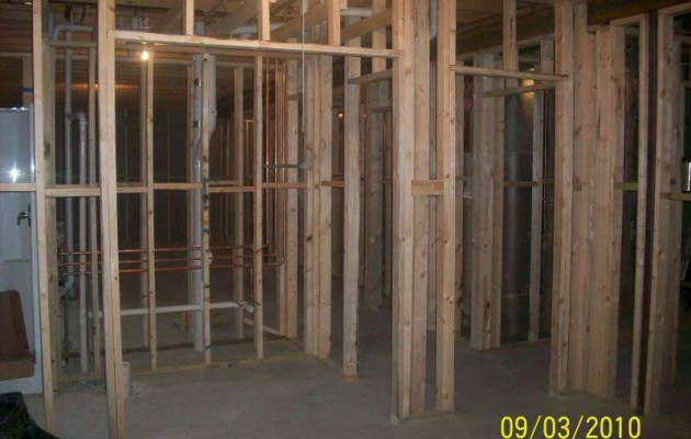 Rebuilding livingroom