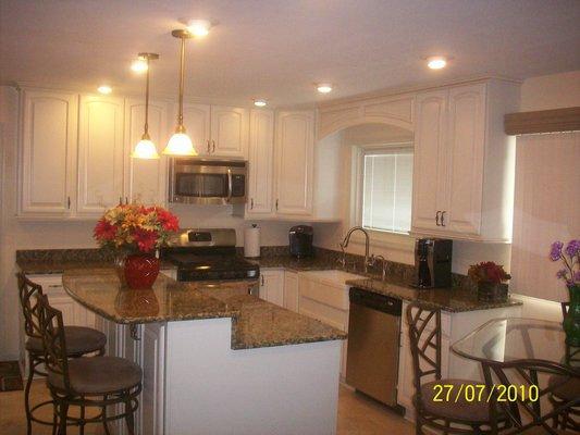 Kitchen rebuilt