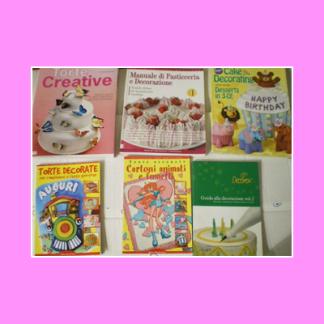 Libri per decorazione torte