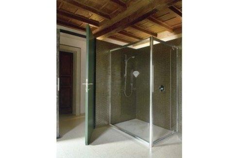 box doccia con vetri trasparenti autopulenti