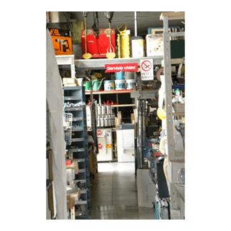 magazzino del negozio