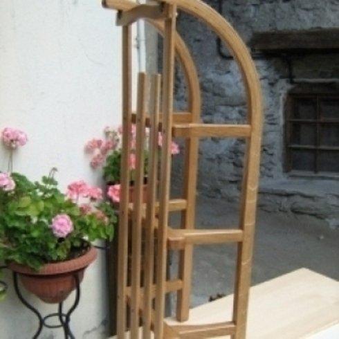restauro slittini in legno