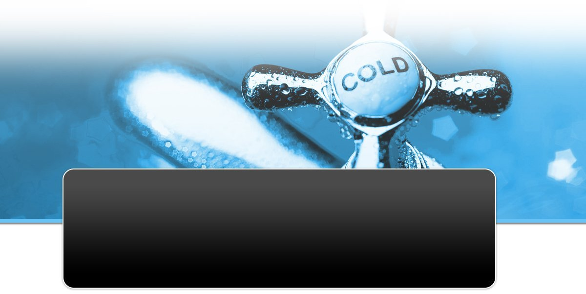 Close up of cold tap