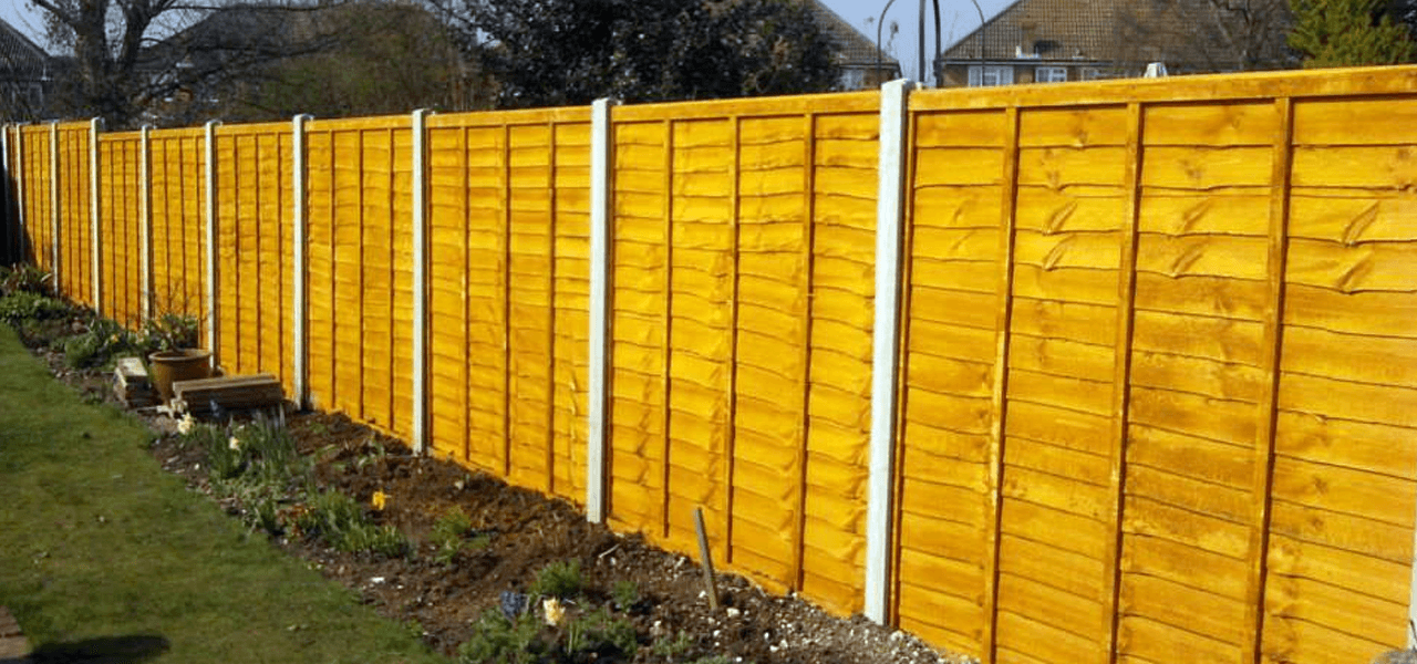 quality wooden fencing