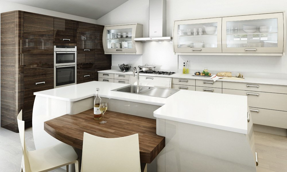 Kitchen with the best kitchen appliances from Lee-on-the-Solent