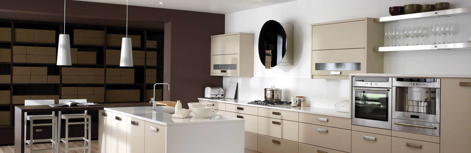 One of the contemporary dream kitchens in Lee-on-the-Solent